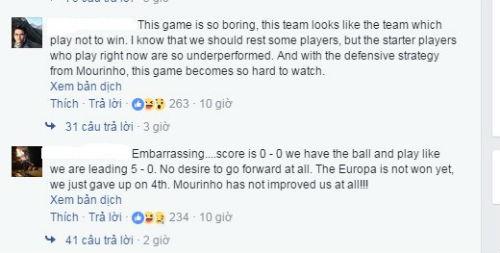 Sợ thua Europa League, fan MU đòi đuổi luôn Mourinho - 2