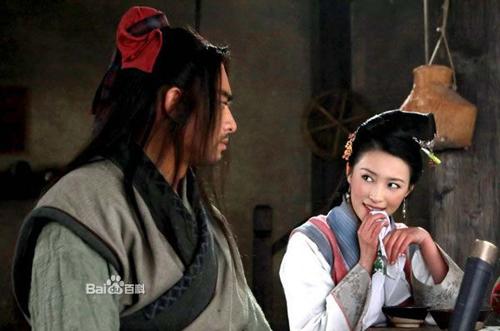 Cảnh Phan Kim Liên gạ tình Võ Tòng trong phim Tân Thủy Hử - 1