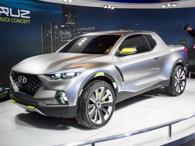 Hyundai Santa Cruz hoàn toàn mới bị hoãn đến 2020 - 1