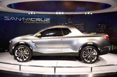 Hyundai Santa Cruz hoàn toàn mới bị hoãn đến 2020 - 2