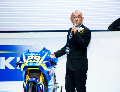 Suzuki Việt Nam ra mắt 3 mẫu xe mới tại triển lãm mô tô, xe máy 2017 - 1