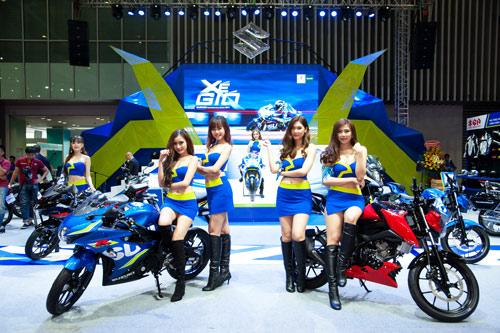 Suzuki Việt Nam ra mắt 3 mẫu xe mới tại triển lãm mô tô, xe máy 2017 - 2