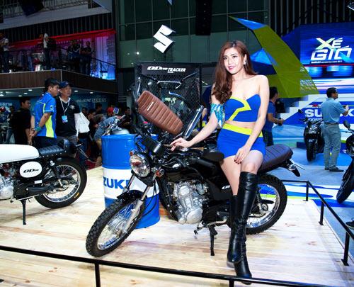Suzuki Việt Nam ra mắt 3 mẫu xe mới tại triển lãm mô tô, xe máy 2017 - 3