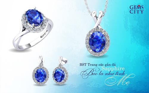 Sapphire – Viên đá mang sắc xanh đại dương dành cho mẹ - 1