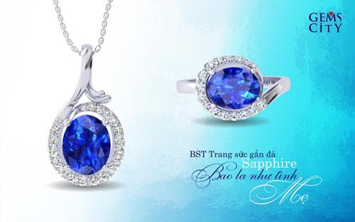 Sapphire – Viên đá mang sắc xanh đại dương dành cho mẹ - 2