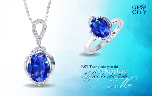 Sapphire – Viên đá mang sắc xanh đại dương dành cho mẹ - 3