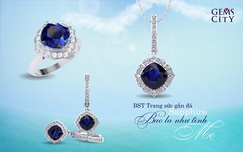 Sapphire – Viên đá mang sắc xanh đại dương dành cho mẹ - 5