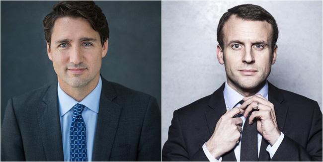 """Style Thủ tướng Canada và Tân tổng thống Pháp ai """"đỉnh"""" hơn? - 9"""