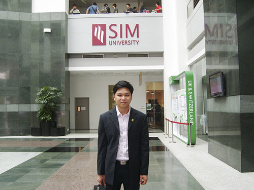 Hội thảo du học Singapore tại Học viện SIM - 1