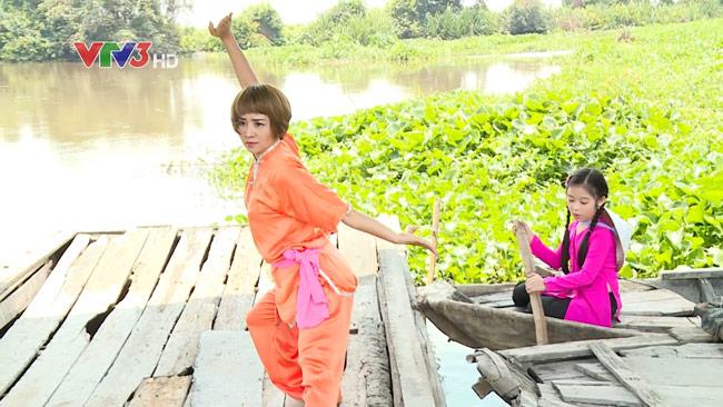 Người đẹp Wushu Thúy Hiền đẹp rạng ngời như thời 20 - 5