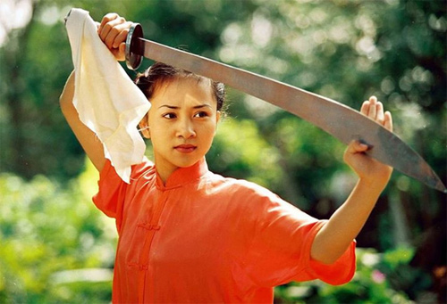 Người đẹp Wushu Thúy Hiền đẹp rạng ngời như thời 20 - 1