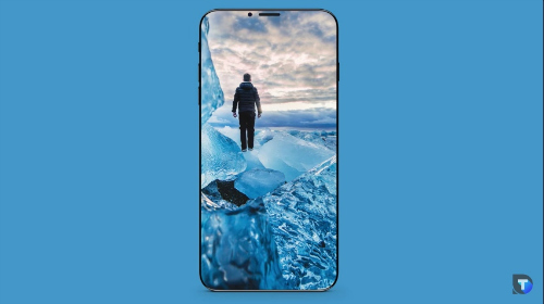 Video concept iPhone 8 có ngoại hình giống như Galaxy S8 - 2