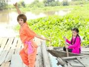 Người đẹp Wushu Thúy Hiền đẹp rạng ngời như thời 20
