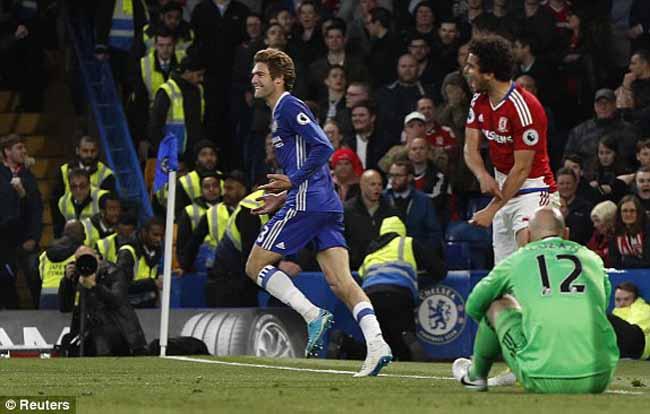 Chelsea - Middlesbrough: Ào ào như thác đổ - 1