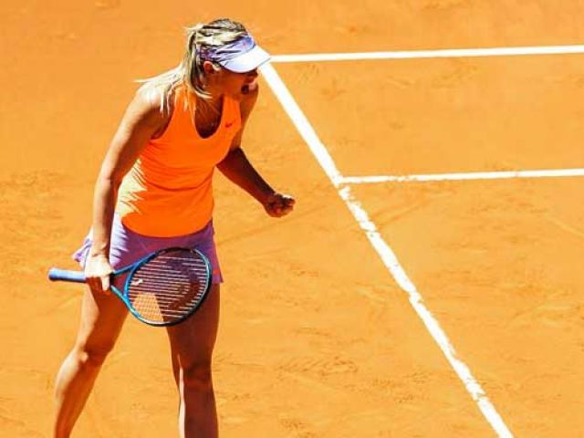 Sharapova – Bouchard: 3 set siêu kịch tính(V2 Madrid Open)