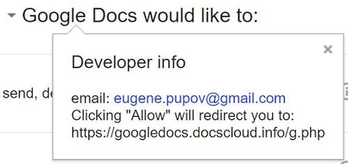 Cẩn thận link mời soạn thảo tài liệu trên Google Docs qua email - 2