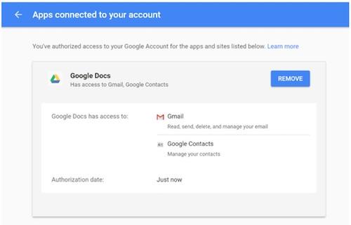 Cẩn thận link mời soạn thảo tài liệu trên Google Docs qua email - 3