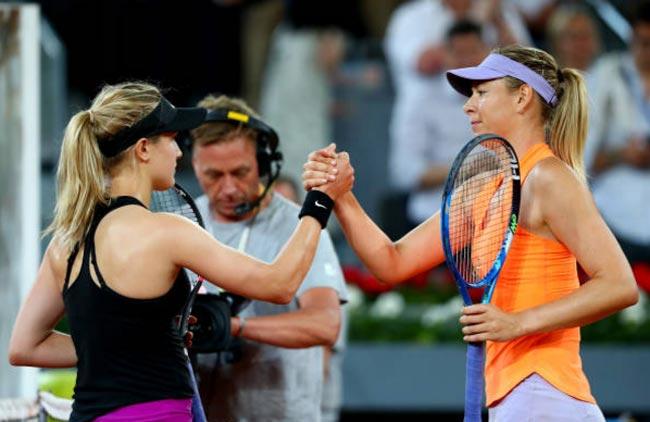 Mỹ nhân tennis ghét nhau: Thắng Sharapova, Bouchard hả hê - 1