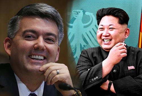 """Chê Kim Jong-un, Nghị sĩ Mỹ hứng """"bão"""" từ Triều Tiên - 1"""