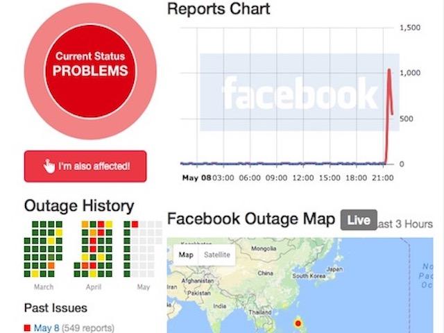 """""""Sập"""" 35 phút, có thể Facebook đã thiệt hại hơn 2 triệu USD"""