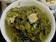 Ẩm thực - Canh rau sắn nấu cá: Đặc sản miền trung du Phú Thọ