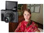 Canon ra mắt máy ảnh chuyên selfie, zoom quang 40x