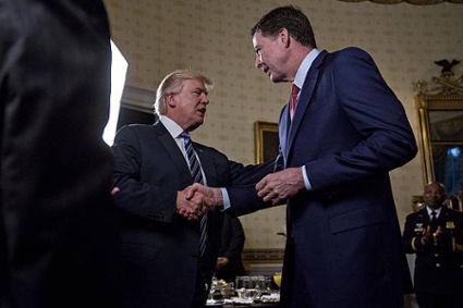 Kết quả hình ảnh cho Trump gây sốc khi bất ngờ sa thải giám đốc FBI