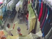An ninh Xã hội - Giang hồ chém xối xả thanh niên trong tiệm quần áo