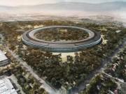 Thời trang Hi-tech - Hoa mắt trước video 4K toàn cảnh trụ sở Apple Park