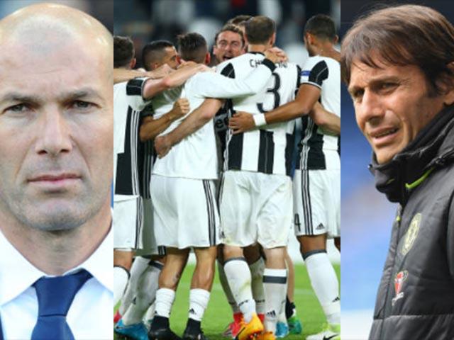 Người Ý vẫn cai trị châu Âu: Conte, Juventus và... Zidane