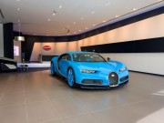Hãng siêu xe Bugatti mở showroom lớn nhất tại Dubai