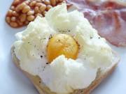 Ẩm thực - Trứng mây bồng bềnh, món ăn đang gây sốt mạng xã hội
