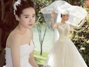 Đời sống Showbiz - Nhã Phương diện váy cô dâu làm tan chảy trái tim trai trẻ