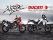 So găng Honda CRF 1000L Africa Twin và Ducati Multistrada 950