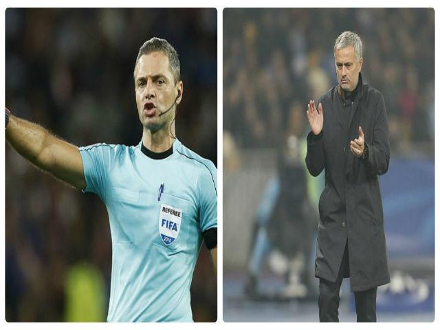 Họa cho MU: Kẻ thù Mourinho cầm còi chung kết Europa League