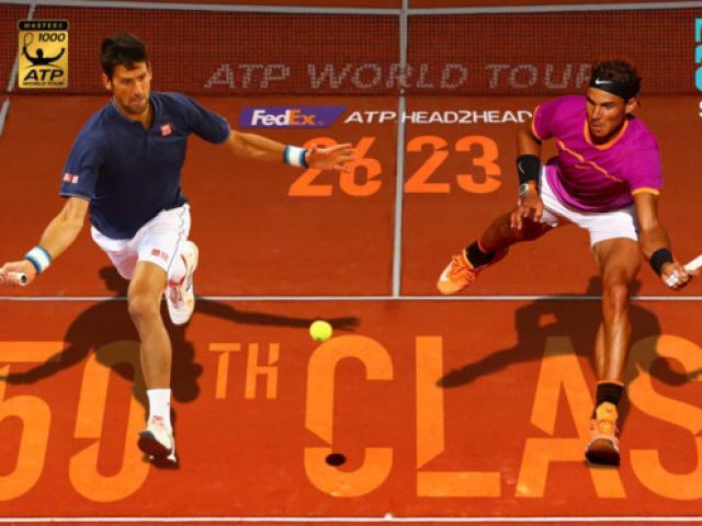 Trực tiếp Madrid Open ngày 6: Nadal - Djokovic đại chiến rực lửa