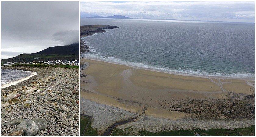 Bãi biển đột ngột xuất hiện trở lại sau hơn 30 năm biến mất - 1