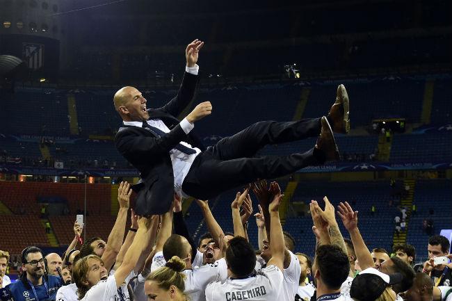 """Real - Zidane vào chung kết cúp C1: Thiên tài hay kẻ """"ăn may"""" - 1"""