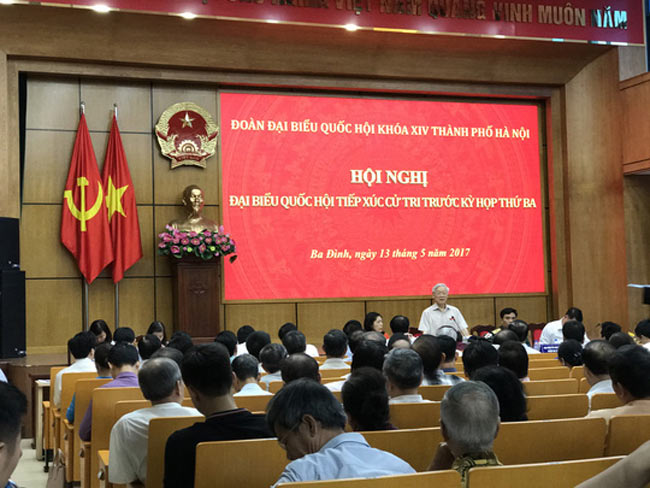Tổng Bí thư nói về việc xử lý ông Đinh La Thăng - 1