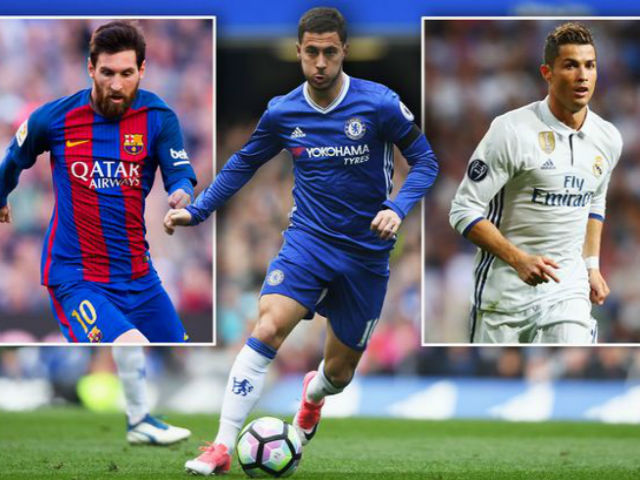 Hazard muốn Quả bóng vàng: Phải né Ronaldo, cậy nhờ Messi