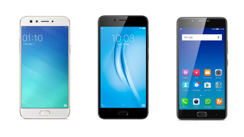 Đọ sức 3 smartphone chuyên selfie: Oppo F3, Vivo V5s và Gionee A1 - 3