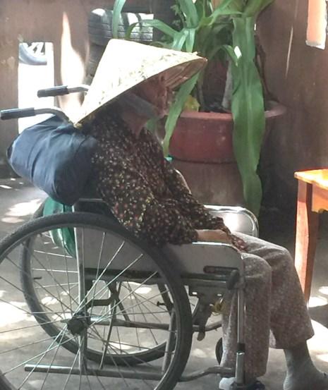 Bà cụ ngồi xe lăn, 8 đứa con ruột và 1 người con nuôi - 2