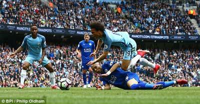 Chi tiết Man City - Leicester: Hú vía những phút cuối (KT) - 5