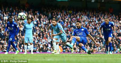 Chi tiết Man City - Leicester: Hú vía những phút cuối (KT) - 10