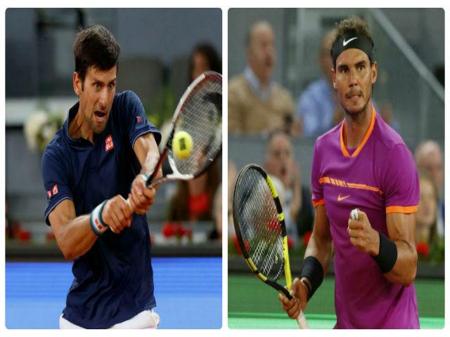 Nadal - Djokovic: 96 phút choáng váng (BK Madrid Open)