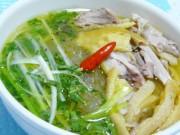 Ẩm thực - Cách nấu miến gà thơm miễn chê, ngon hơn hàng