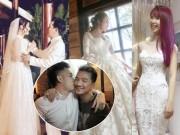 Chưa bao giờ showbiz Việt rộn ràng  đám cưới  đến thế