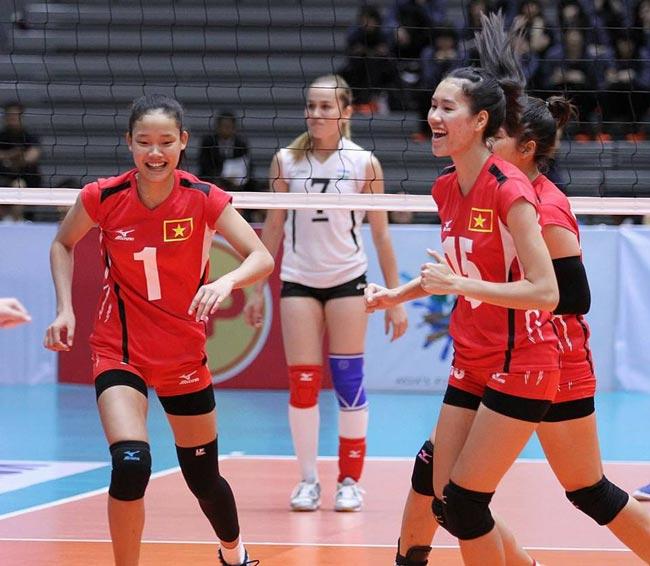 Bóng chuyền nữ Việt Nam hủy diệt đối thủ, vào top 8 châu Á - 1