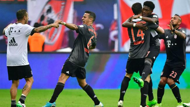 Leipzig - Bayern Munich: 9 bàn thắng và 2 siêu phẩm bù giờ - 1