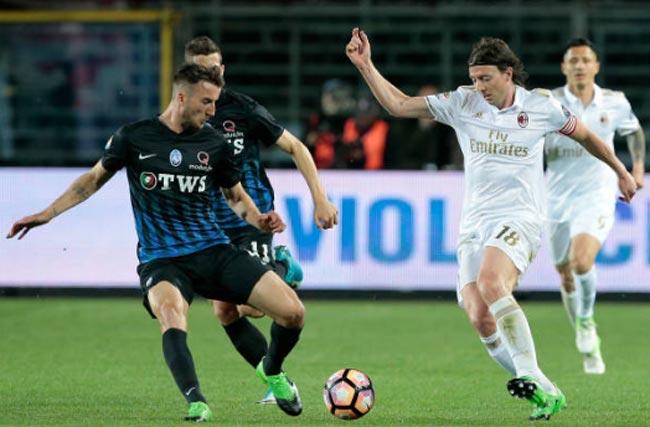 Atalanta - AC Milan: Cú ngã ở gần vạch đích - 1